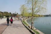 舞鶴公園と福岡城址、大濠公園